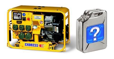 выбор герератора по типу топлива от Тиберис